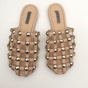 Cape Robbin Studded Slide Sandals